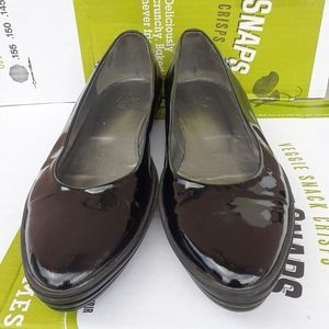 Luxury- HOGAN Wmns 💯%Leather WEDGE Loafer 10us